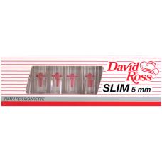 Минифильтры для сигарет, David Ross 102, Slim 5мм