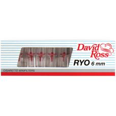 Минифильтры для сигарет, David Ross 104, RYO 6мм