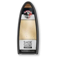 Губка с пропиткой для блеска обуви(черная), Bufalo  Shoe Shine