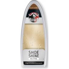 Губка с пропиткой для блеска обуви нейтрал, Bufalo Shoe Shine