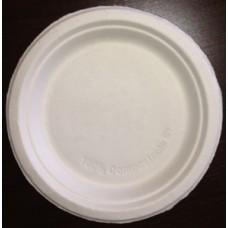 Тарелка круглая, бумажная, Ø26см