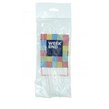 Нож пластиковый прозрачный, Weekend Karnaval
